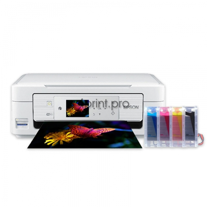 Картинка МФУ Epson Expression Home XP-435 с СНПЧ (C11CE62402) от магазина 4print.pro